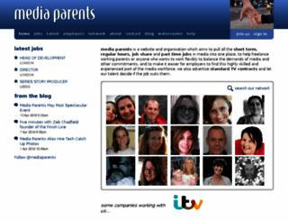 mediaparents.co.uk screenshot