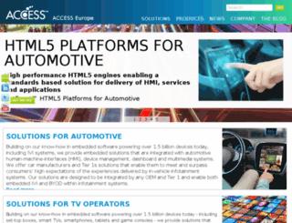 mediapilot.access-company.com screenshot