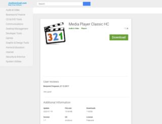 mediaplayerclassic.joydownload.com screenshot
