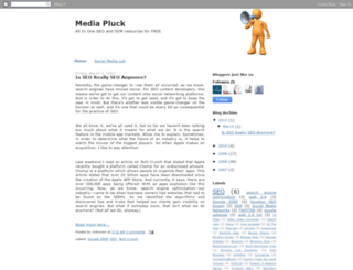 mediapluck.blogspot.com screenshot