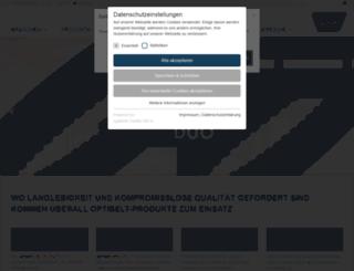 mediaplus3.optibelt.com screenshot
