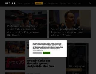 mediar.cz screenshot
