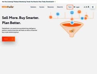 mediaradar.com screenshot