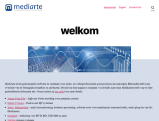 mediarte.com screenshot