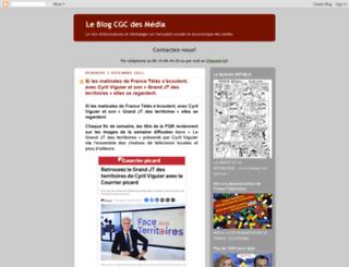 medias-cgc.blogspot.com screenshot