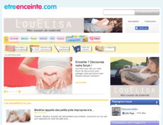 medias.etreenceinte.com screenshot