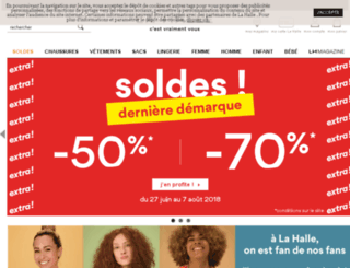 medias.lahalle.com screenshot