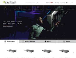 mediasat.com screenshot