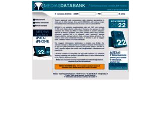 mediasdatabank.net screenshot