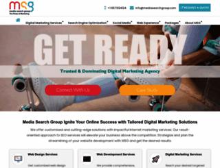 mediasearchgroup.com screenshot