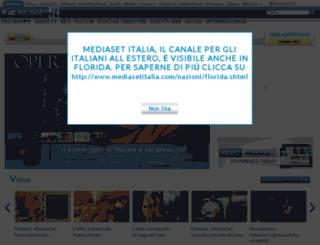 mediasetonline.com screenshot
