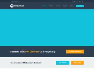mediasharesuite.com screenshot