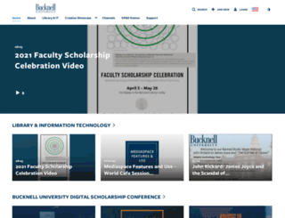 mediaspace.bucknell.edu screenshot