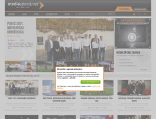 mediaspeed.net screenshot