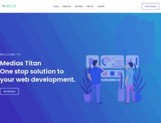 mediastitan.com screenshot