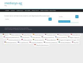 mediasys-ag.de screenshot