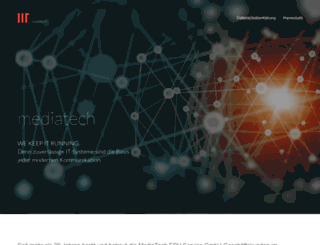mediatech.de screenshot