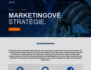 mediatel.sk screenshot