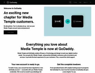 mediatemple.net screenshot