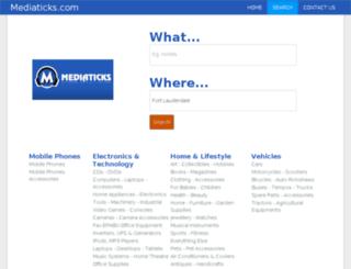 mediaticks.com screenshot
