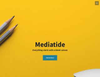 mediatide.co.uk screenshot