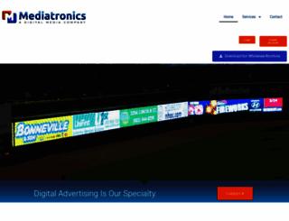 mediatronicsinc.com screenshot