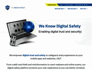 mediatrust.com screenshot