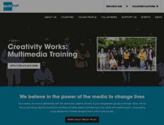 mediatrust.org screenshot