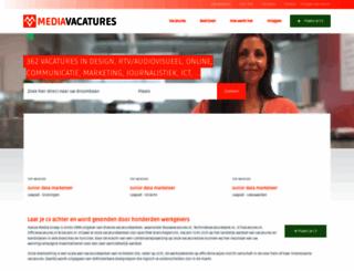 mediavacature.nl screenshot
