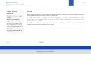 mediawatchers.nl screenshot