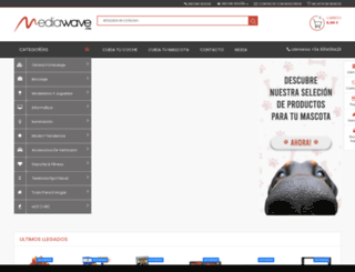 mediawavestore.es screenshot