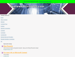 mediawebconnect.com screenshot