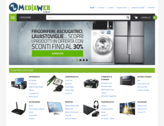 mediawebgroup.it screenshot