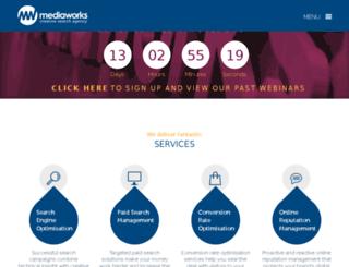 mediaworksonlinemarketing.co.uk screenshot