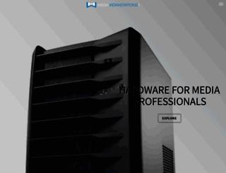 mediaworkstations.net screenshot