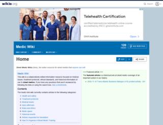 medic.wikia.com screenshot