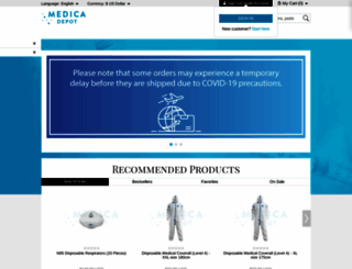 medicadepot.com screenshot