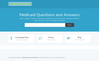 medicaidquestions.com screenshot