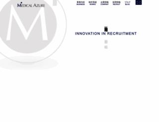 medical-azure.com screenshot