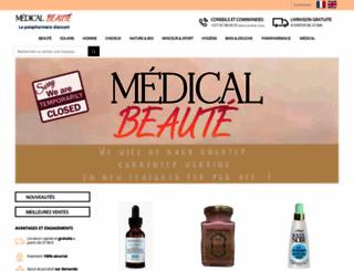medical-beaute.fr screenshot