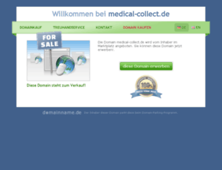 medical-collect.de screenshot