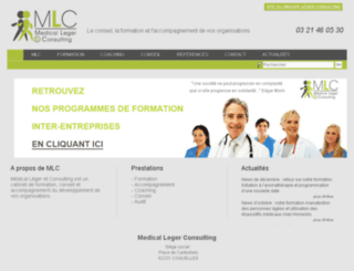 medical-leger-consulting.fr screenshot