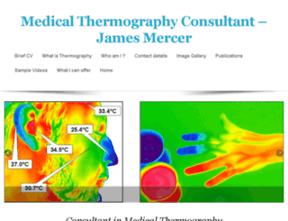 medical-thermography.com screenshot
