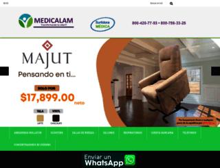 medicalam.com.mx screenshot