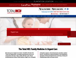 medicalcenterofthepalmbeaches.com screenshot