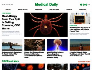 medicaldaily.com screenshot