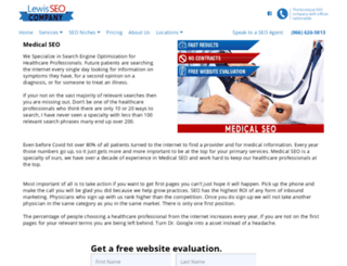 medicaldentalseo.com screenshot