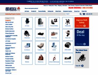 medicaldepartmentstore.com screenshot