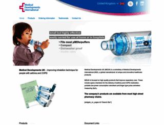 medicaldev.co.uk screenshot