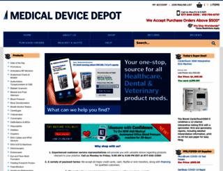 medicaldevicedepot.com screenshot